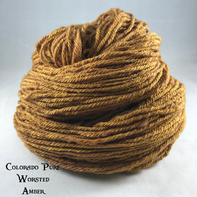 Colorado Pure Worsted - Semi-Solid - Amber