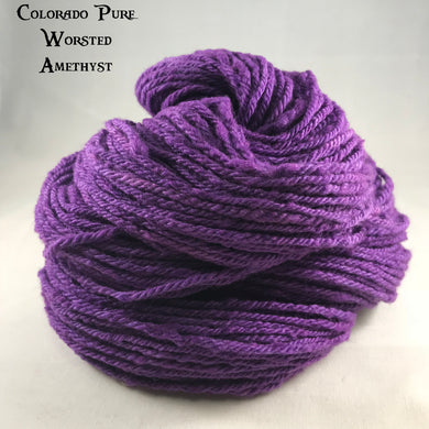 Colorado Pure Worsted - Semi-Solid - Amethyst
