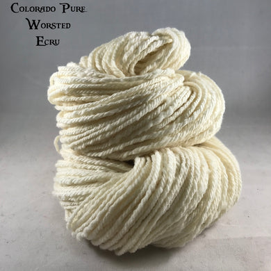 Colorado Pure Worsted - Semi-Solid - Ecru