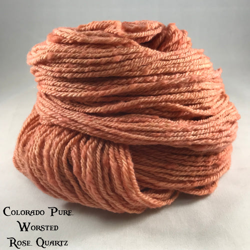 Colorado Pure Worsted - Semi-Solid - Rose Quartz