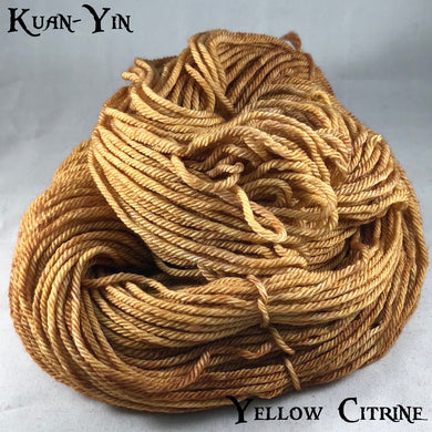 Kuan-Yin - Yellow Citrine