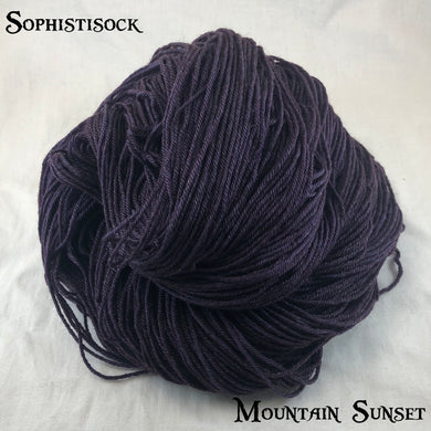 Sophistisock - Mountain Sunset