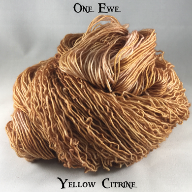 One Ewe - Yellow Citrine