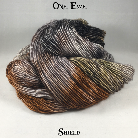 One Ewe - Kettle Dyes - Shield