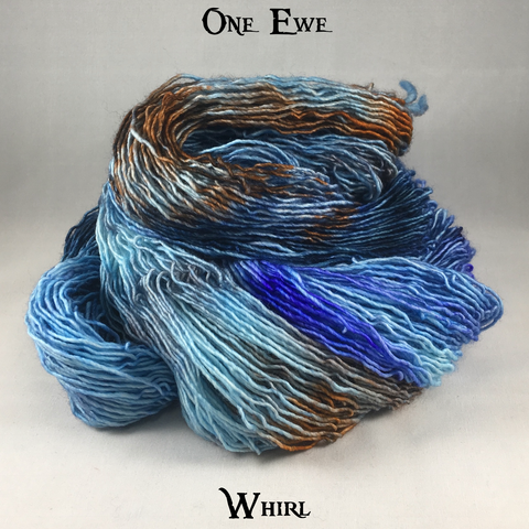 One Ewe - Kettle Dyes - Whirl