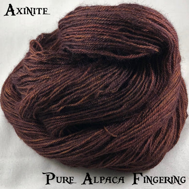 Pure Alpaca Fingering - Axinite