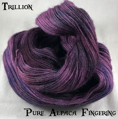Pure Alpaca Fingering - Trillion