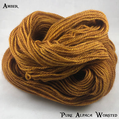 Pure Alpaca Worsted - Amber