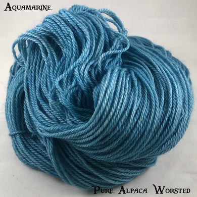 Pure Alpaca Worsted - Aquamarine