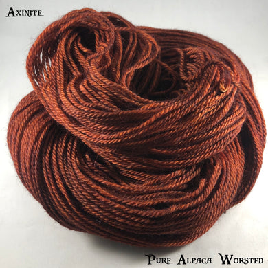 Pure Alpaca Worsted - Axinite