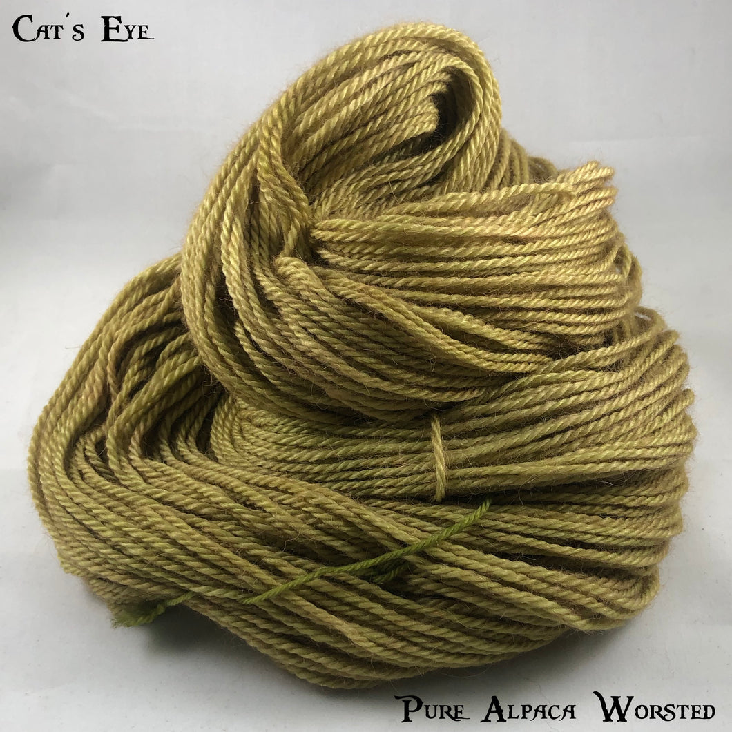 Pure Alpaca Worsted - Cat's Eye