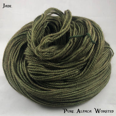 Pure Alpaca Worsted - Jade