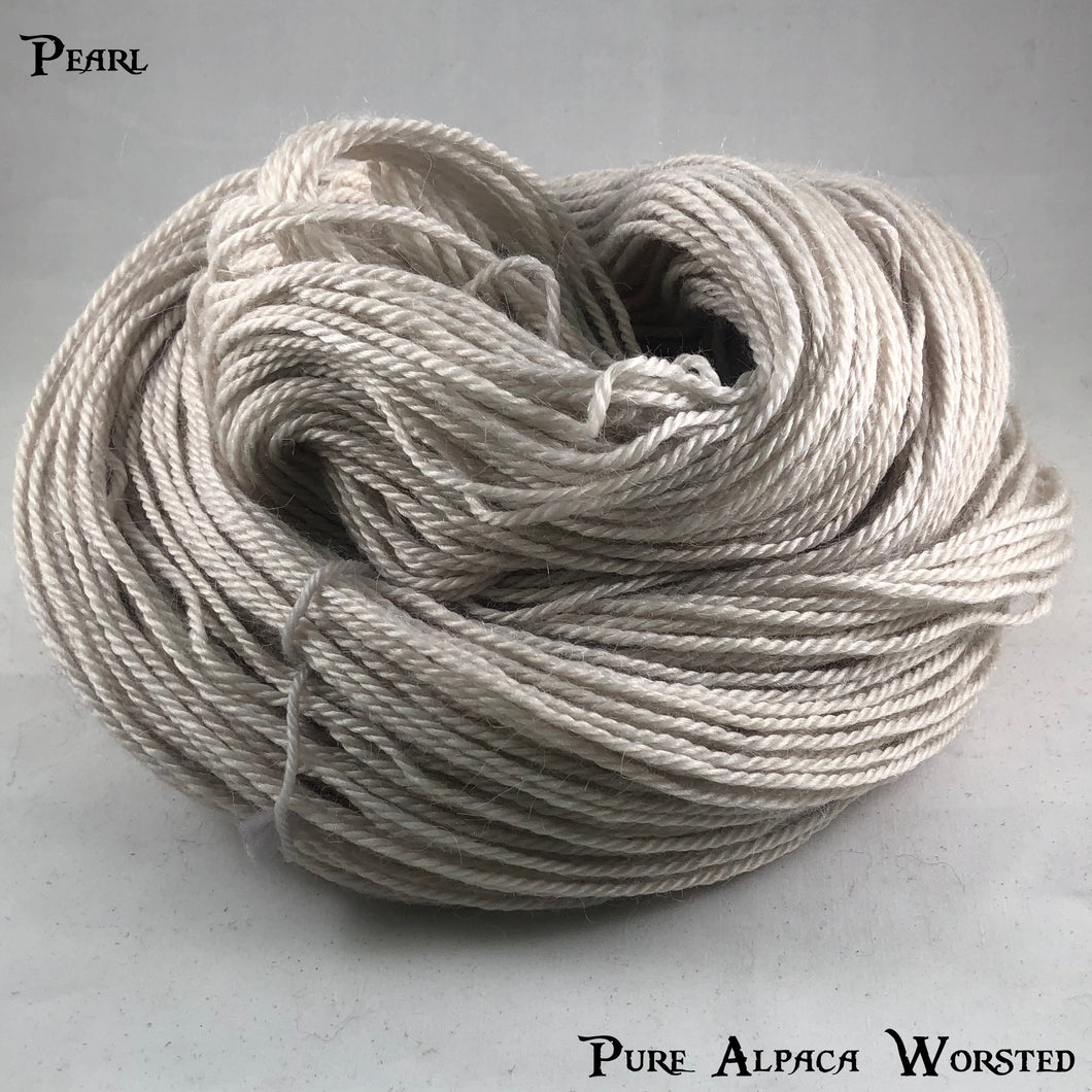 Pure Alpaca Worsted - Pearl