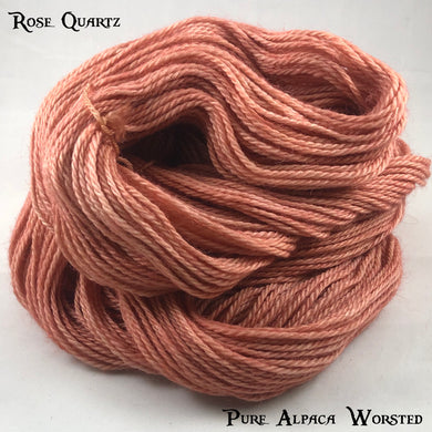 Pure Alpaca Worsted - Rose Quartz