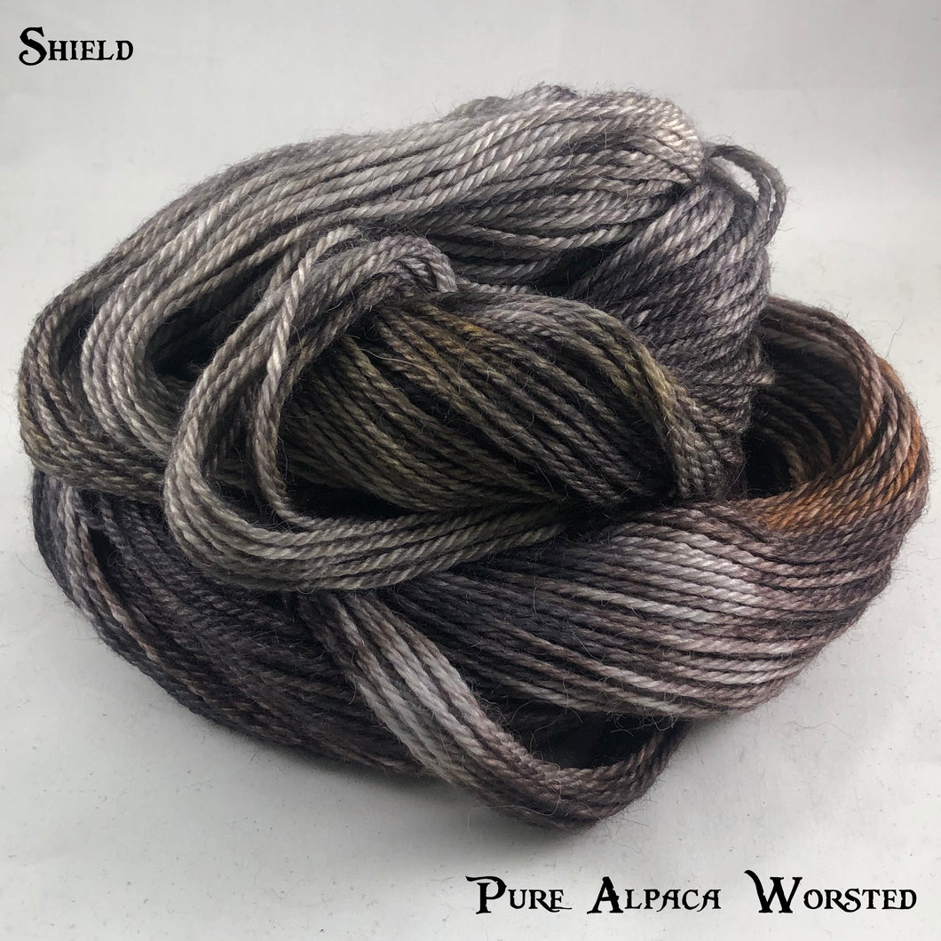 Pure Alpaca Worsted - Shield