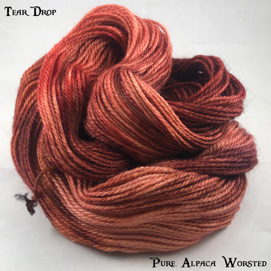 Pure Alpaca Worsted - Tear Drop
