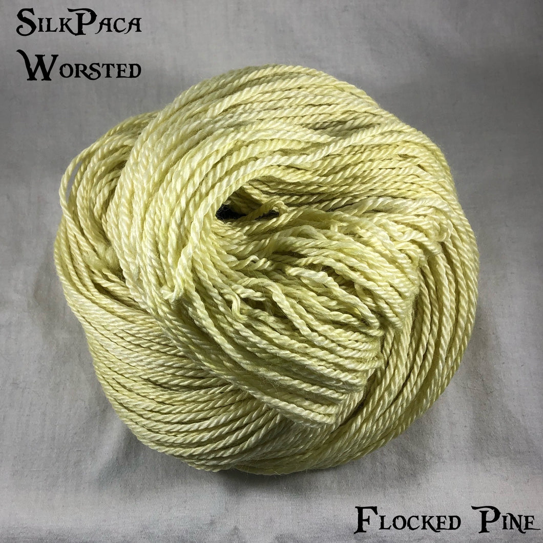 SilkPaca - Flocked Pine
