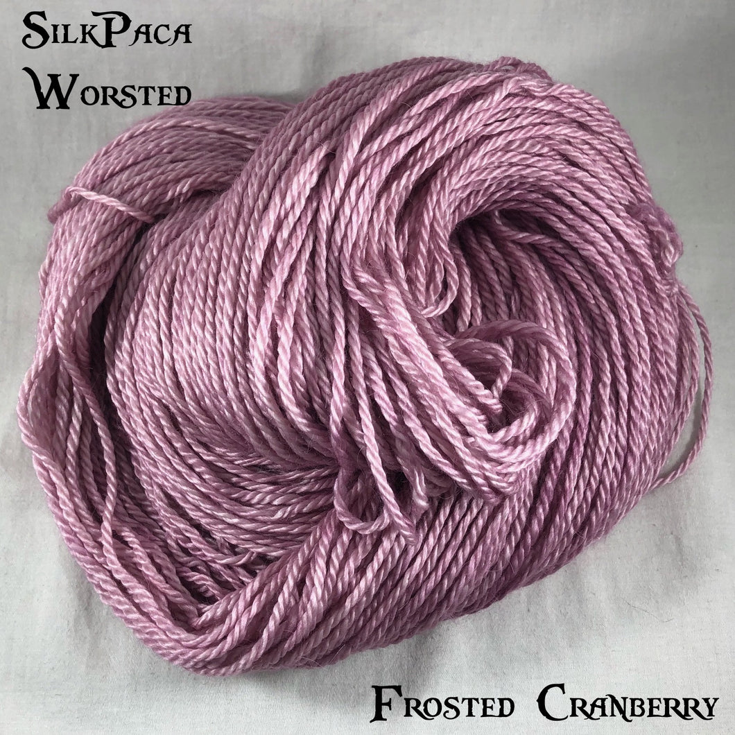 SilkPaca - Frosted Cranberry