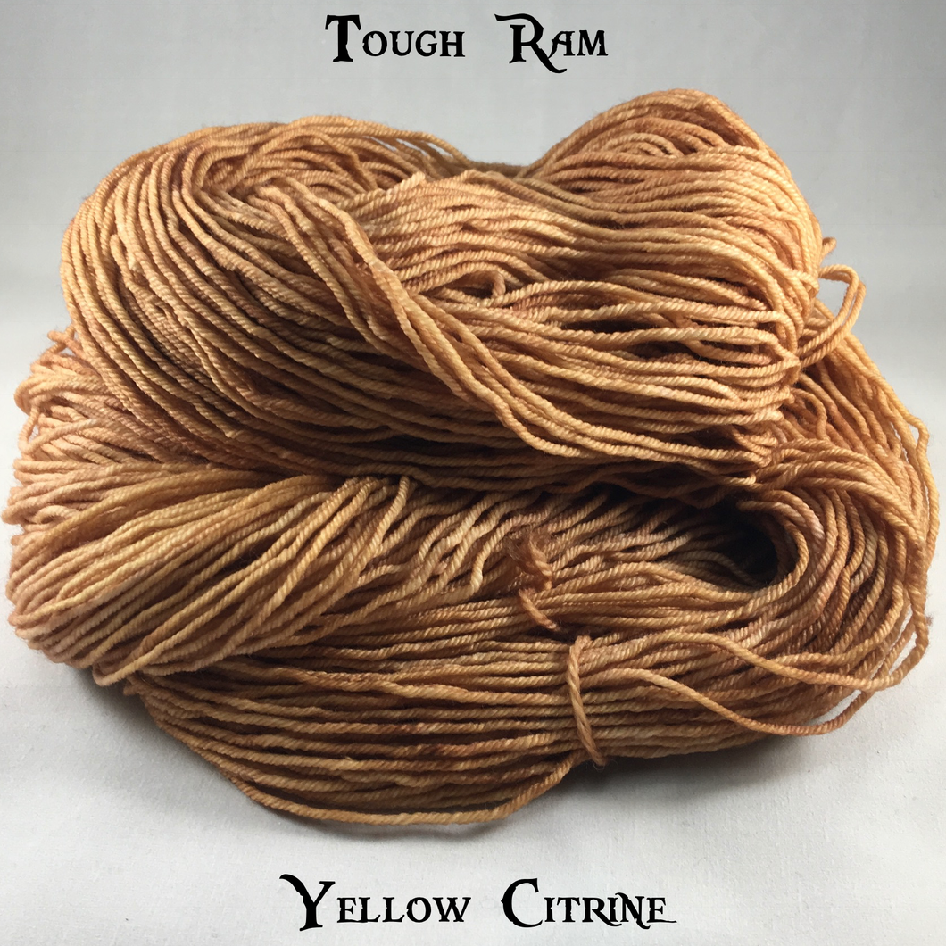 Tough Ram - Yellow Citrine