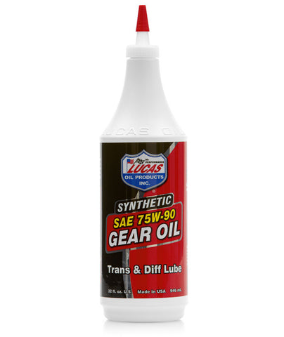 Gear Oil 75w-90 Synthetic - Quart - Case of 12