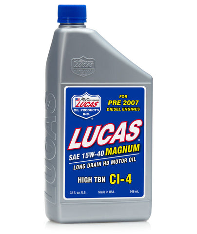 Magnum 15w-40 Long Drain Oil - Case of 12 Quarts