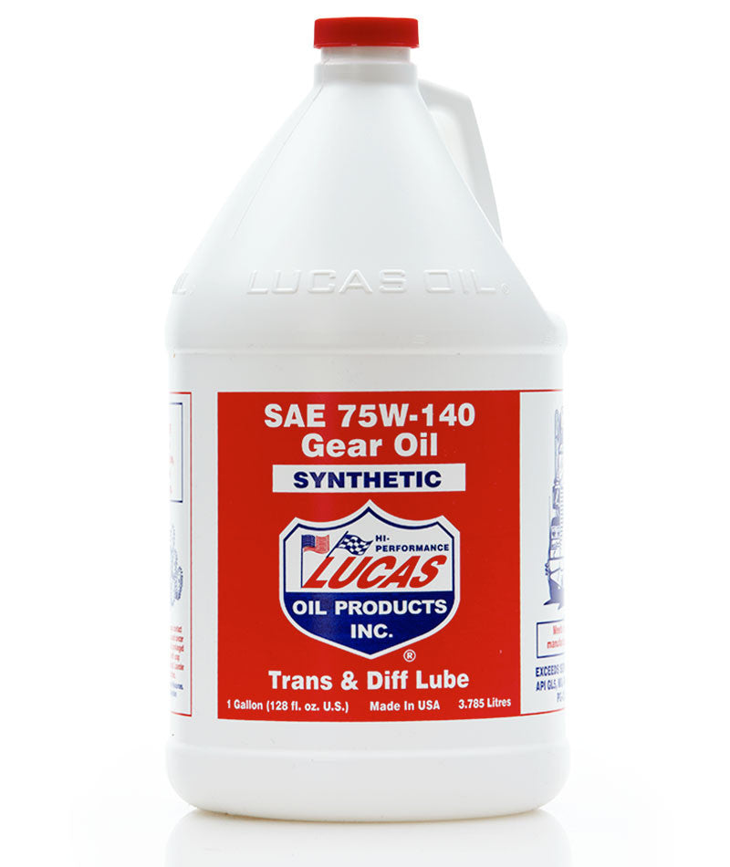 Synthetic SAE 75W-140 Gear Oil - Case of 4 Gallons