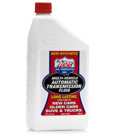 Multi Vehicle Automatic Transmission Fluid - Quart