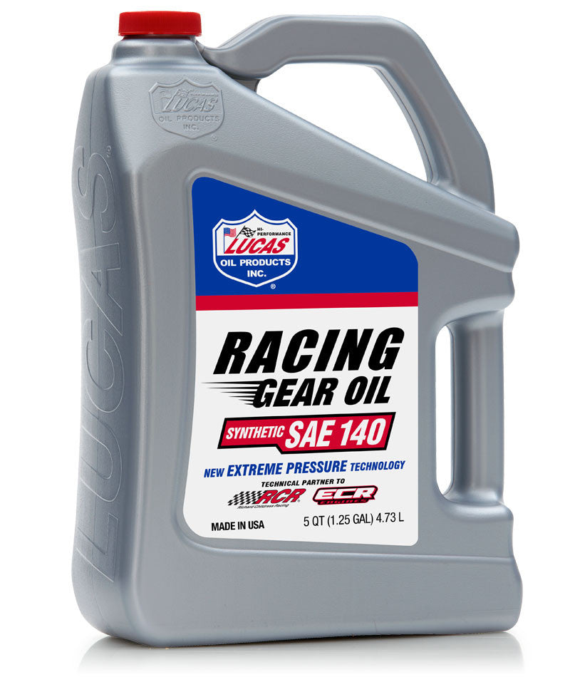 Racing Only Synthetic 140 Gear Oil - 5 Quart