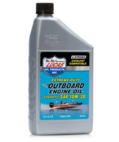 Outboard 10w-30 Engine Oil - Quart - Case of 6