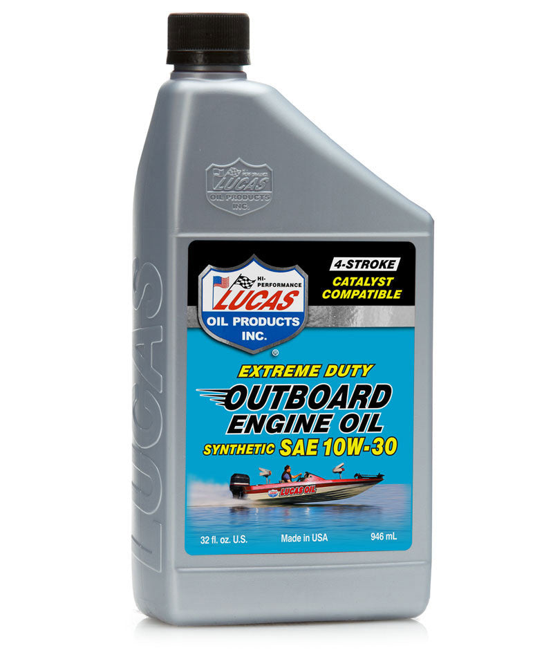 Marine Synthetic Engine Oil 10w-30 - Case of 6 Quarts