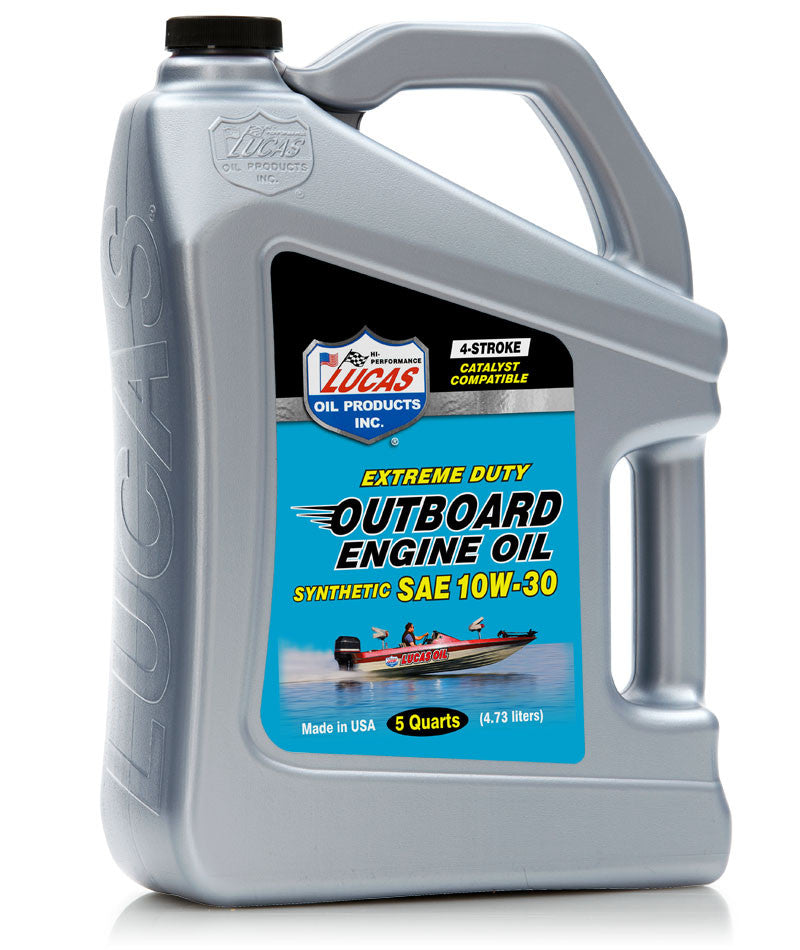 Marine Synthetic Engine Oil 10w-30 - 5 Quart Jug- Case of 3