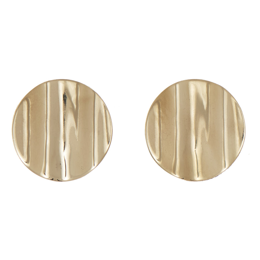 Corrugated Earring