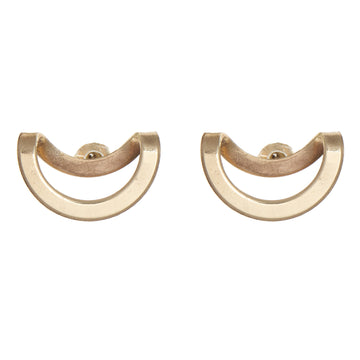 Bent Circle Earring
