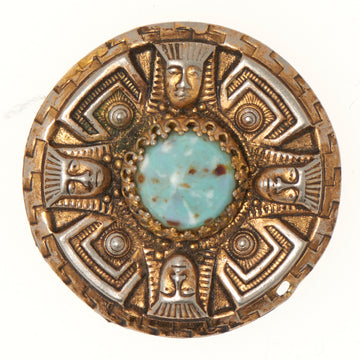 EGYPTIAN REVIVAL BROOCH