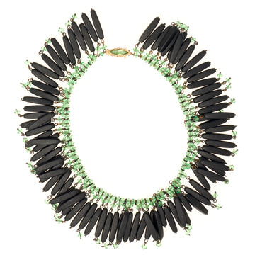DECO FRINGE NECKLACE