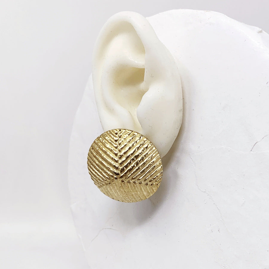 BANDED CONE EARRING