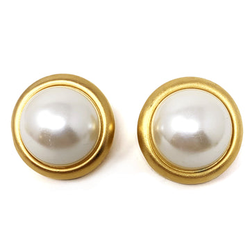 PEARL CAB EARRINGS