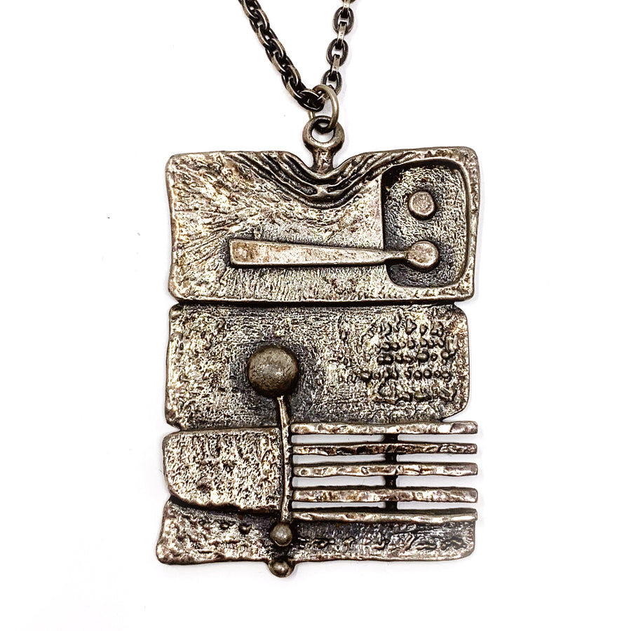 GUY VIDAL MODERNIST PENDANT
