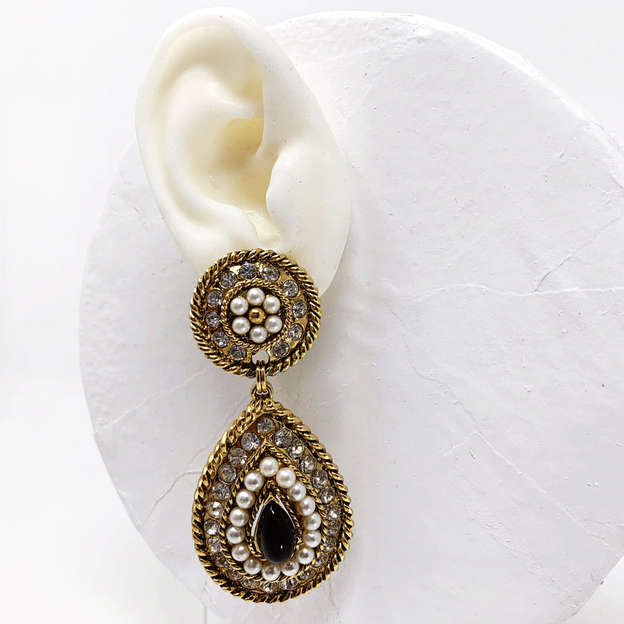 CRAFT PAVE EARRINGS