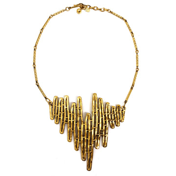CELEBRITY SCULPTURAL NECKLACE