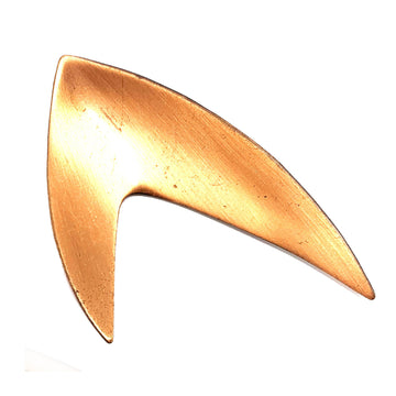COPPER MID-CENTURY BROOCH