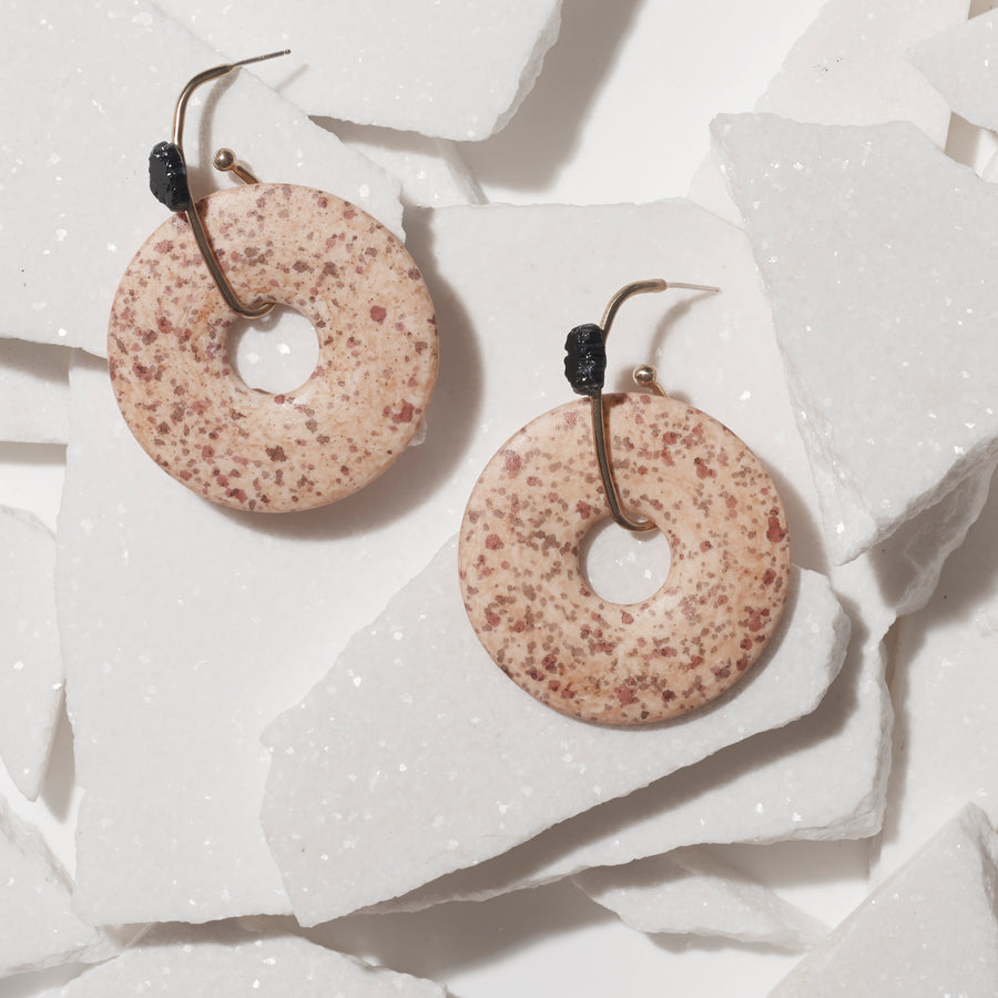 CRATER EARRING
