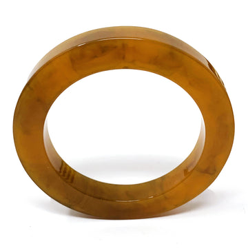 TORTOISE RESIN BANGLE