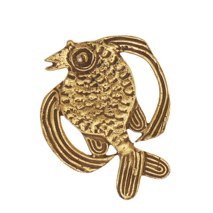 ALVA STUDIO Fish Brooch