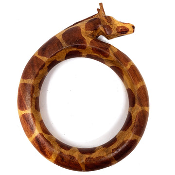 WOODEN GIRAFFE BANGLE