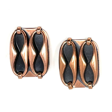 COPPER LINK RENOIR EARRING