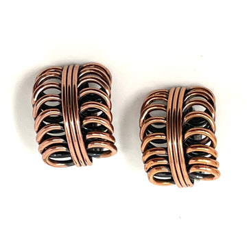 COPPER LOOP RENOIR EARRING