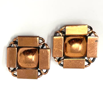 COPPER SQUARE RENOIR EARRING
