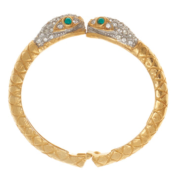 KJL JEWELED SERPENT CUFF