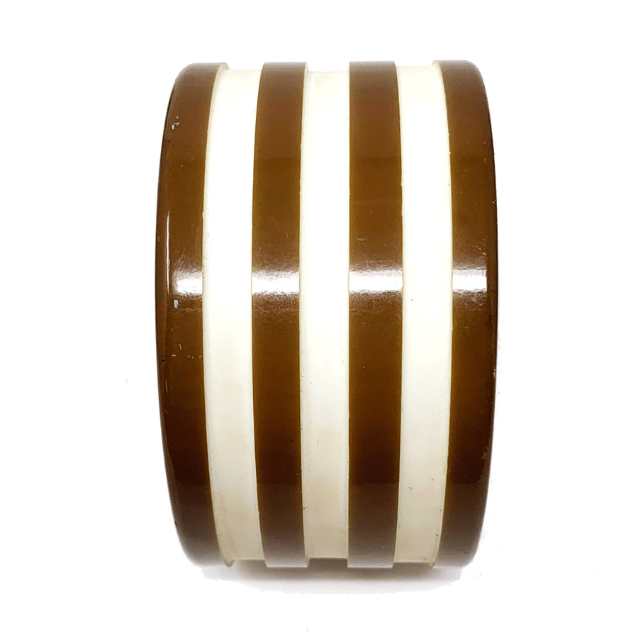 STRIPED RESIN BANGLE